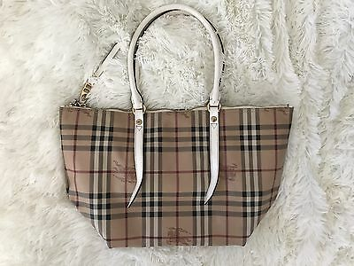0208f6507b35 BURBERRY  SMALL CANTERBURY - Horse Check Canvas Tote -  450.00 ...