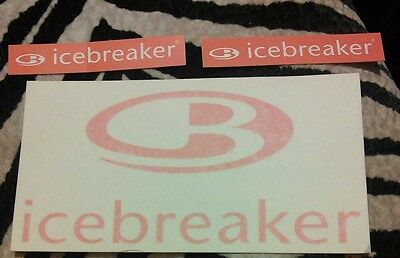 Merino Icebreaker decal and sticker set.  Show your love for the wool! 3 items