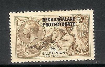 British   Bechuanaland  George   V   1920-30   Two  Shilling  &  Six  Pence  Mh*