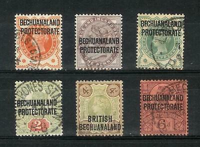 British   Bechuanaland   Victoria   1897  -   1898    Protectorate     Selection