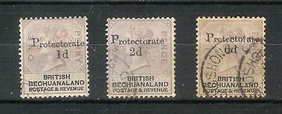 British   Bechuanaland   Victoria   1888   Selection