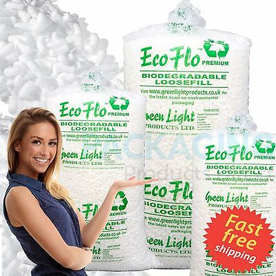 45 Cubic Foot ECOFLO Biodegradale Loose Fill Void Fill