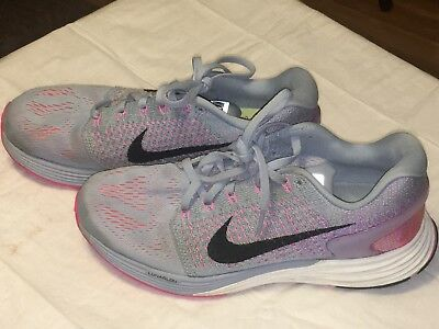 Women's NIKE Lunarglide 7 Running Shoe Size 8 Excellent Condition