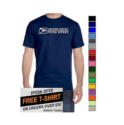 USPS Postal Post Office DriPower 50/50 Active Short Sleeve Tee Tshirt by PCA Etc