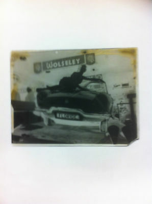1 X  Vintage/antique Glass Negative Photography Plate. Historical Images/  Cars