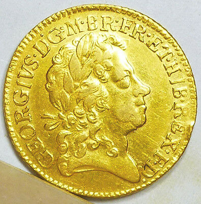 Great Britain Gold Guinea 1723 VF/Extremely Fine