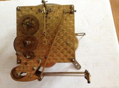 Original Vintage SMITHS Mantel Westminster Clock Movement ,  Complete & Working