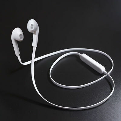 White Wireless Bluetooth Headphone Earphones Sport Headset for iPhone Samsung LG