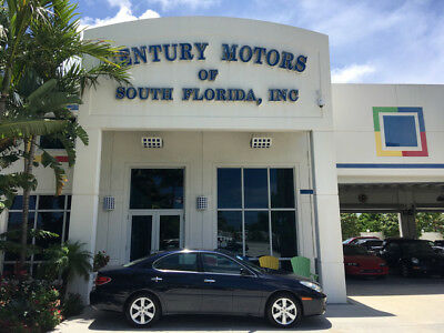 2005 Lexus ES Base Sedan 4-Door CPO NIADA CERTIFIED WARRANTY LOW MILES 37 SERVICE RECORDS FLORIDA