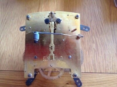Original Vintage ENFILED  Mantel Clock Movement ,  Complete & Working