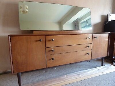Vintage Retro 1950's G-Plan Teak Dressing Table with Tilting Mirror