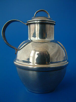 "Channel Islands Silver Milk Can - Guernsey c1980 by Bruce Russell - 3""/8cm tall"