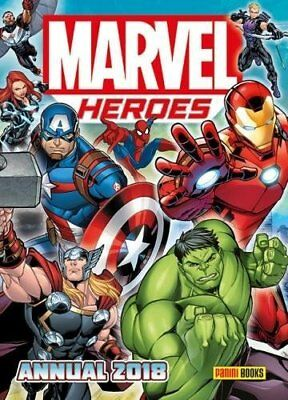 Marvel Heroes Annual 2018 (Annuals 2018) by Letterland Hardback Book New