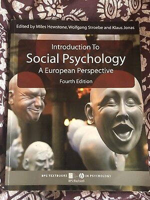Introduction to Social Psychology: A European Perspective by John Wiley and Sons