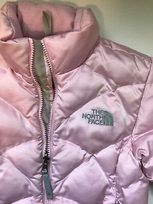 The North Face Girl's Small - Pink Down Winter Jacket / Coat