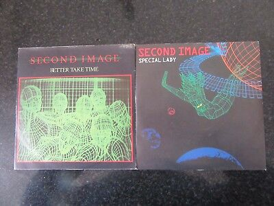 """SECOND IMAGE """"BETTER TAKE TIME"""" / """"SPECIAL LADY"""" JOB LOT 2 x 7"""" BRIT FUNK"""