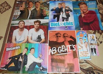 Die Lochis - Posters / Clippings Fan Sammlung
