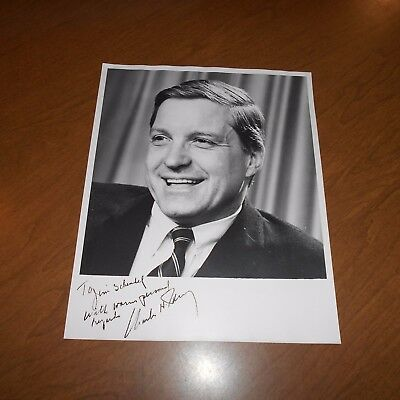 Charles H. Percy former United States Senator Hand Signed Photo