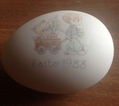 Precious Moments Easter 1988 Egg