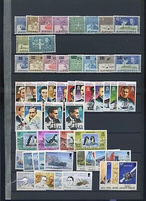 British Antarctic territory mint collection earlies MH later increasingly MNH