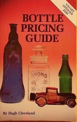 Antique Bottle Memorabilia Value Guide Collector's Reference Book