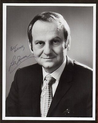 LEE IACOCCA Chrysler Corp CEO Developed FORD MUSTANG, PINTO Old SIGNED PHOTO