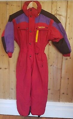 VERTICAL Ski Suit Lined Unisex Kids Size 8 Snow Suit All in one