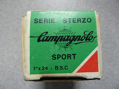 """New boxed Vintage Campagnolo (Nuovo) Gran Sport Headset 1"""" x 24tpi"""