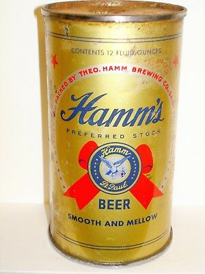 HAMM'S PREFERRED STOCK Flat Top Beer Can M832