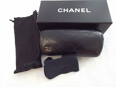 Chanel glasses hard and soft case etc
