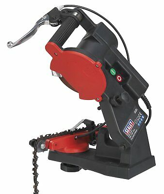 Sealey SMS2002C Chainsaw Blade Sharpener Quick Locating, 85 W
