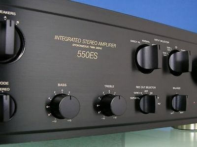 SONY Integrated Stereo Amplifer 550 ES