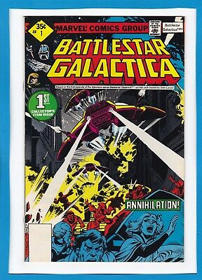 BATTLESTAR GALACTICA #1_MARCH 1979_VERY FINE+_1st COLLECTOR'S ITEM ISSUE!