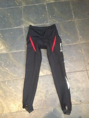 Tenn Padded Cycling Tights Fleece Lined Large