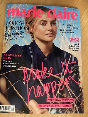Marie Claire Magazine - October 2017 - Shailene Woodley
