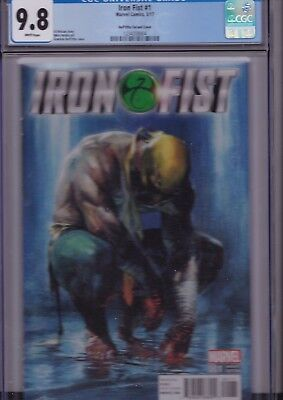 Iron Fist #1 Dell'Otto Variant Cover CGC 9.8