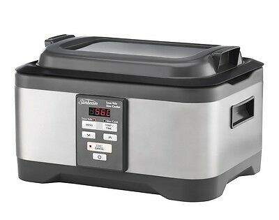 NEW Sunbeam MU4000 Duos Sous Vide & Slow Cooker Auto Timer Stainless Steel 5.5L