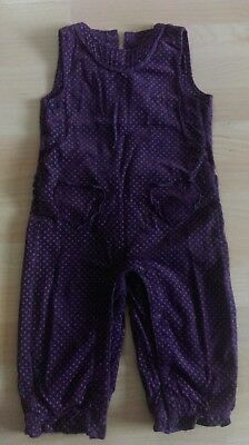 Baby girls dungarees, lined, 18-24 months