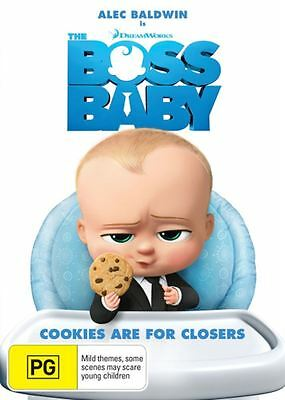 The Boss Baby Movie On Dvd, Brand New And Sealed