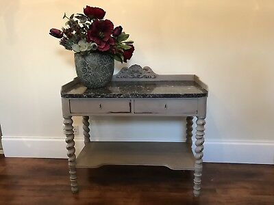 Antique Sideboard Marble Top / wash stand