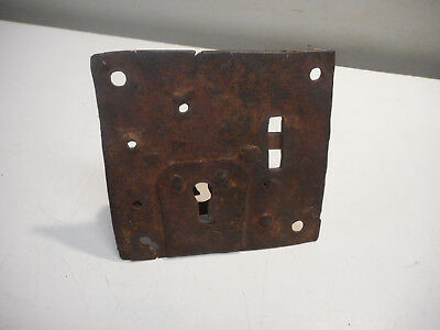 L1837- Antique 18th Century Lock for Chest - Pennsylvania Find