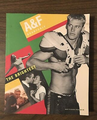 Abercrombie & Fitch A & F Quarterly Catalogue - Back To School Issue 2001