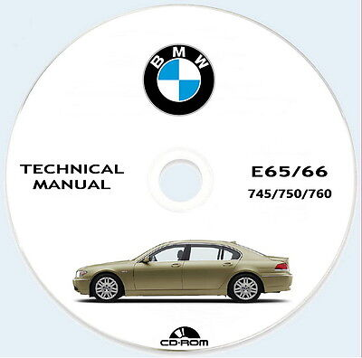 Technical Manual Bmw serie 7 E65/66,Bmw 745/750/760, 2001/2005