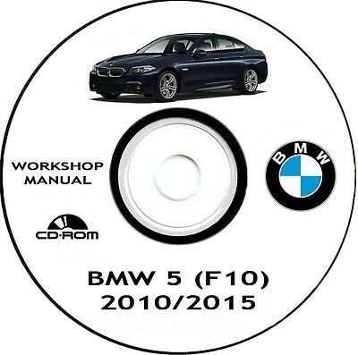 Workshop Manual,Bmw F10 serie 5,manuale officina Bmw serie 5 (F10)