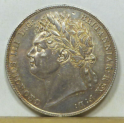 Great Britain Half Crown 1821 Extremely Fine