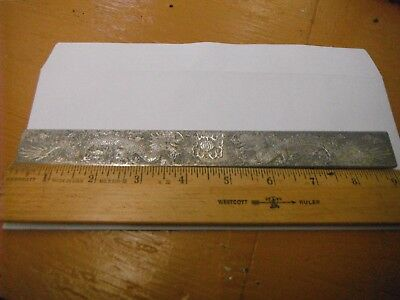 """Tibetan Silver TWIN DRAGONS Book Marker 1"""" x 9"""" Heavy Stamped"""