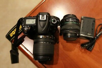 Nikon D90 Digital SLR with VR Nikon 18-105mm Lens and extras