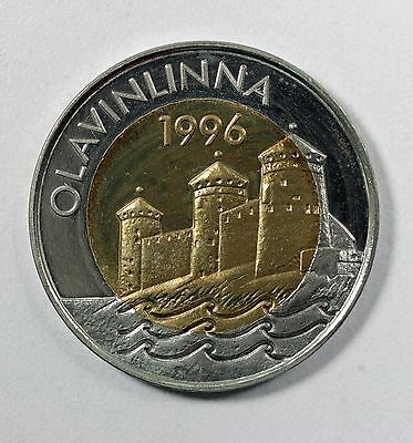 FINLAND 5 EURO 1996 Proof (HD18)