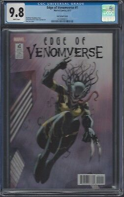 Edge of Venomverse #1__CGC 9.8__Ron Lim variant