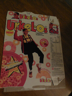 URKEL-O'S Cereal Box 1992 - Urkel / Family Matters TV Sitcom